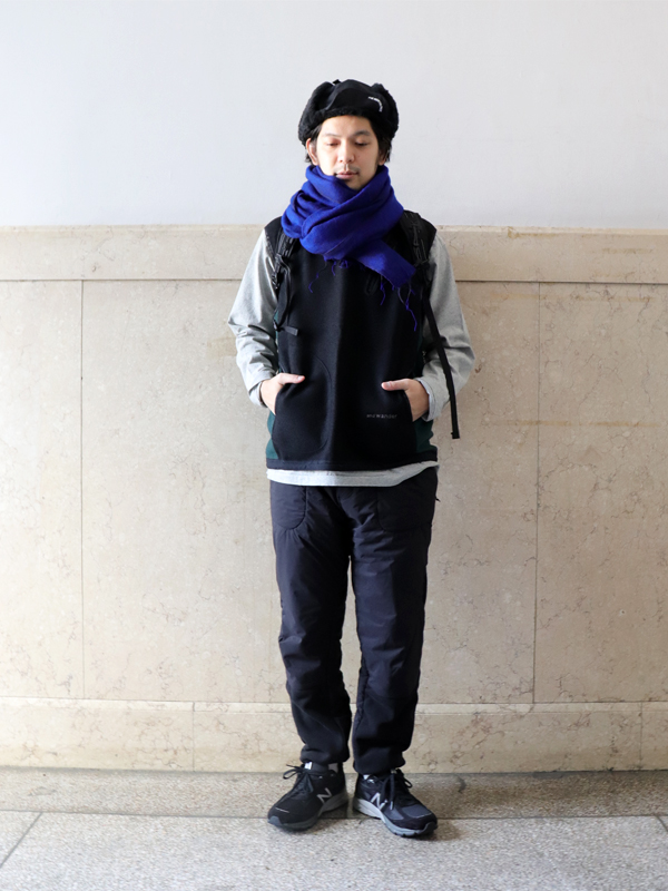 and wander  air wool vest