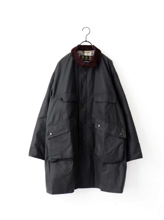 Kaptain Sunshine Stand Collar Traveller Coat Made by Barbour