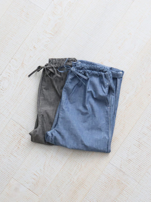 Ordinary fits PAJAMA PANTS