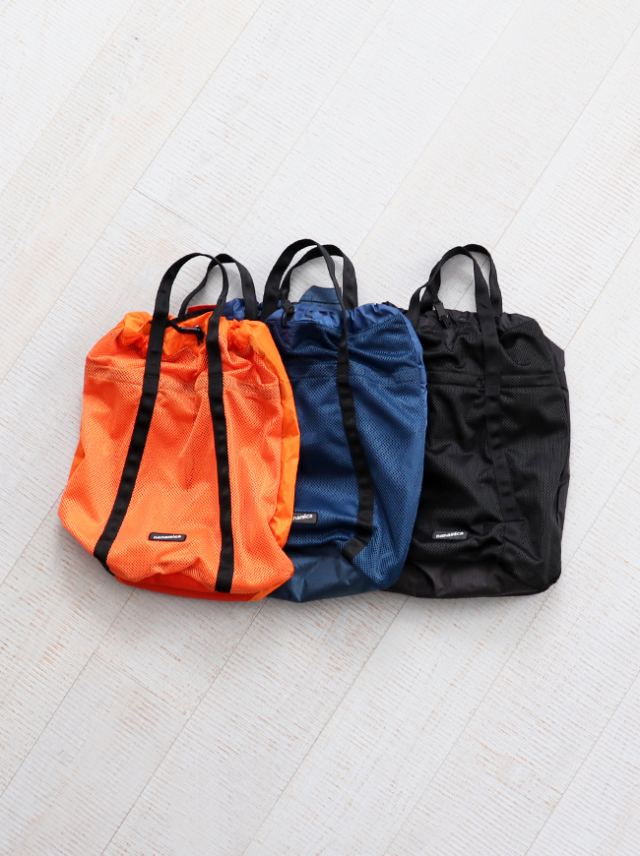 nanamica Nanamican Packable Mesh Tote