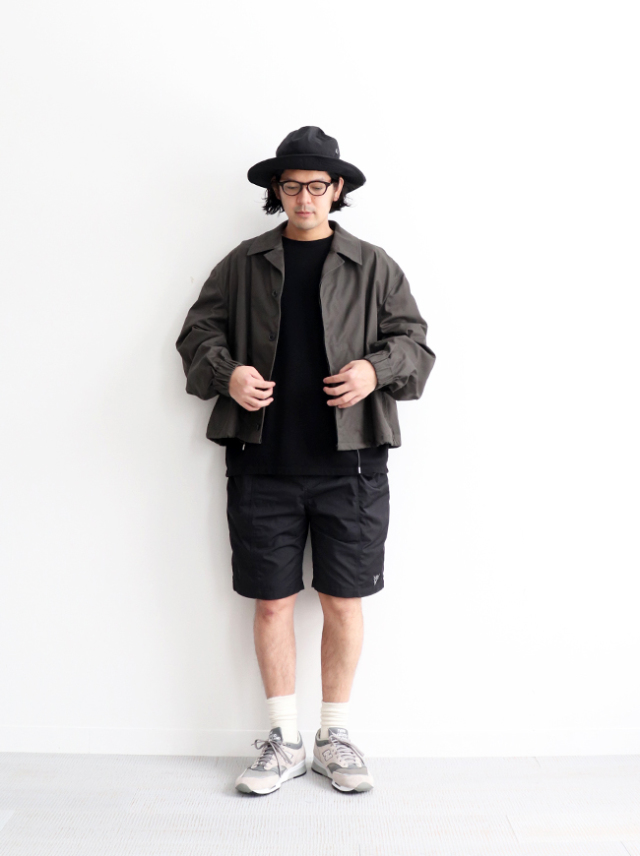 WELLDER Drawstring Coatch Jacket