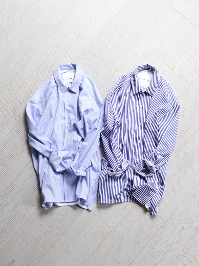 "CURLY CLOUDY SHIRTS ""Stripe"""