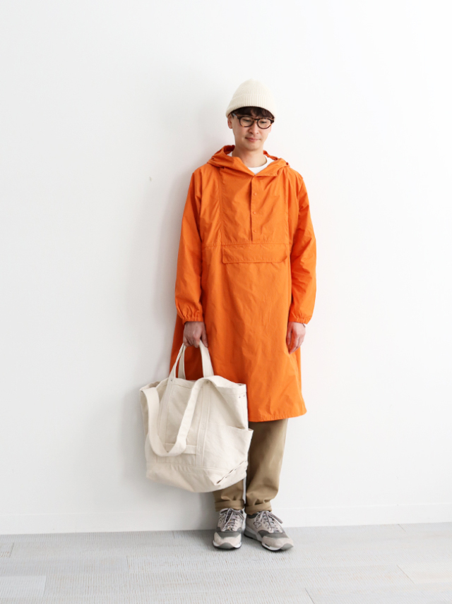 YAECA ANORAK -LONG