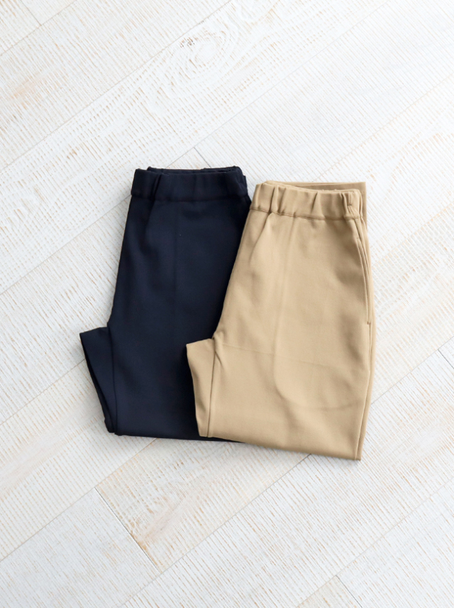 YAECA MOCK LODI EASY PANTS -SLIM