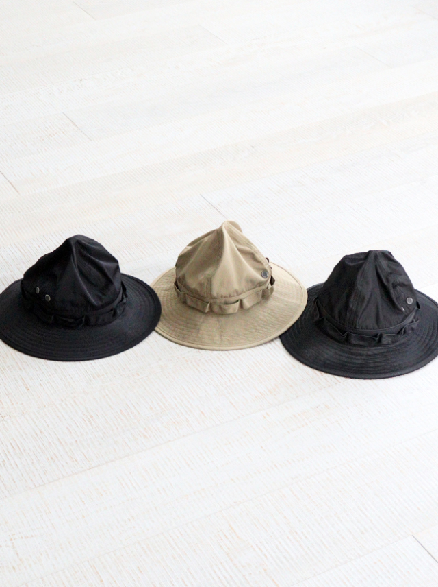 SOUTH2 WEST8 Jungle Hat - Poly Gabardine