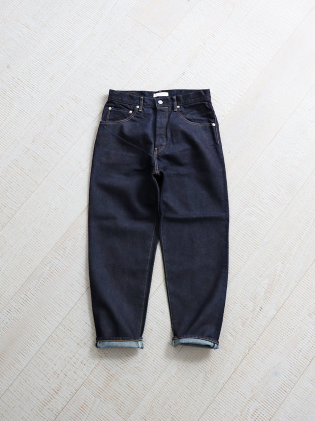 Loose Tapered Denim -Washi