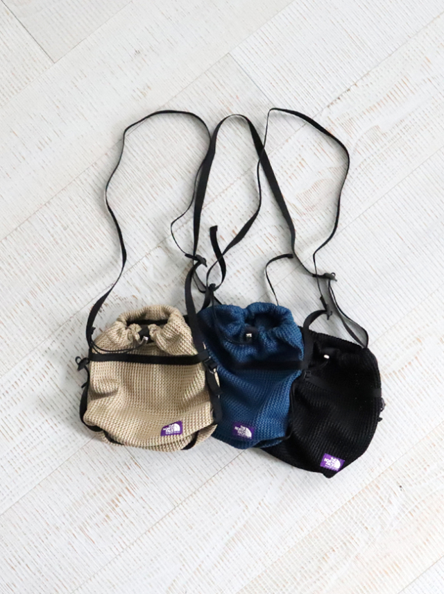 THE NORTH FACE PURPLE LABEL Mesh Bucket Shoulder Bag