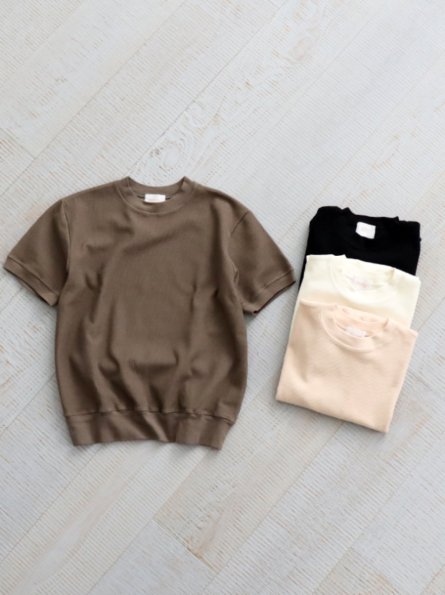 blurhms ROOTSTOCK Rough & Smooth Thermal Pullover S/S