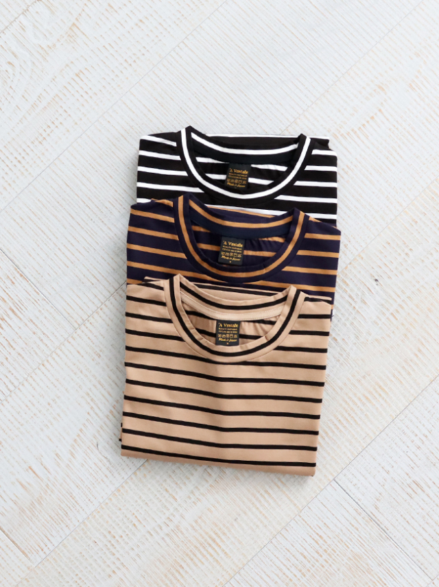 A Vontade Border T-Shirts S/S