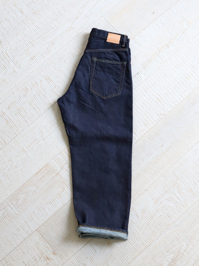 HATSKI Wide Tapered Denim -Washi