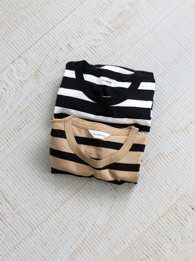 FLAMAND REGULAR TEE -STRIPE