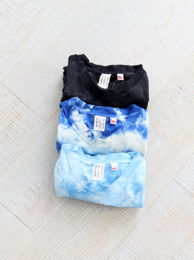 MAKERS AMERICAN FIT T-SHIRTS -TIE DYE