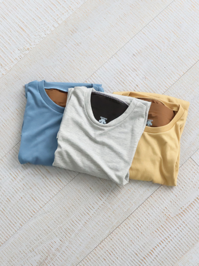 DESCENTE PAUSE ZEROSEAM PACKABLE T-SHIRT