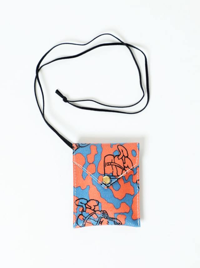 GASIUS×WILDTHINGS CREDIT CARD CASE