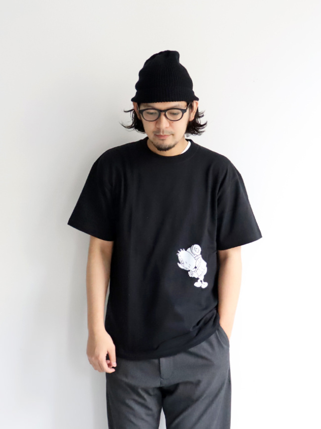 GASIUS×WILDTHINGS S/S TEE