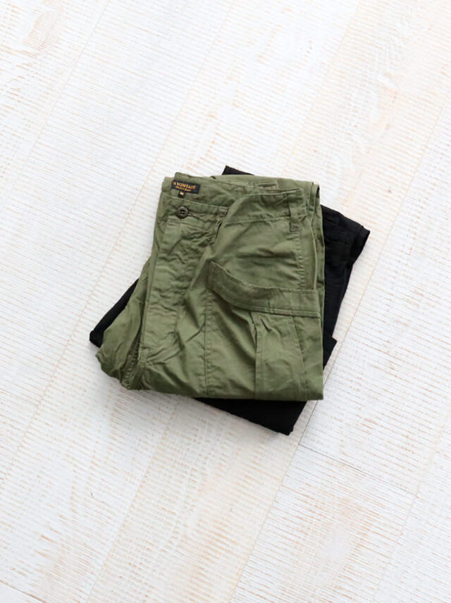 A Vontade Fatigue Trousers -Rip Stop-