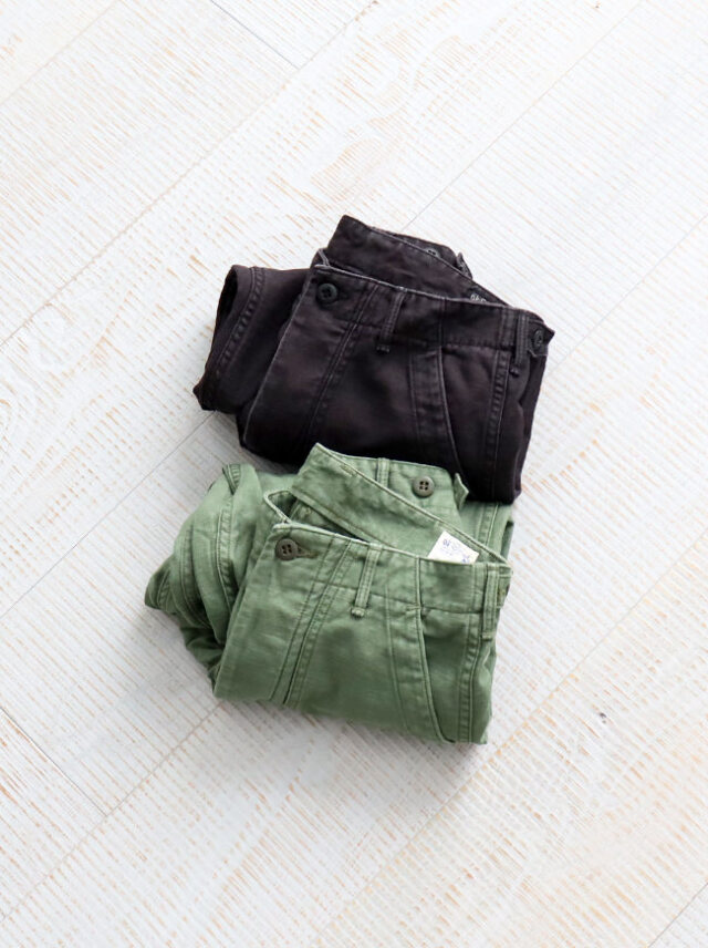 orSlow US Army Fatigue Pants -Used Wash