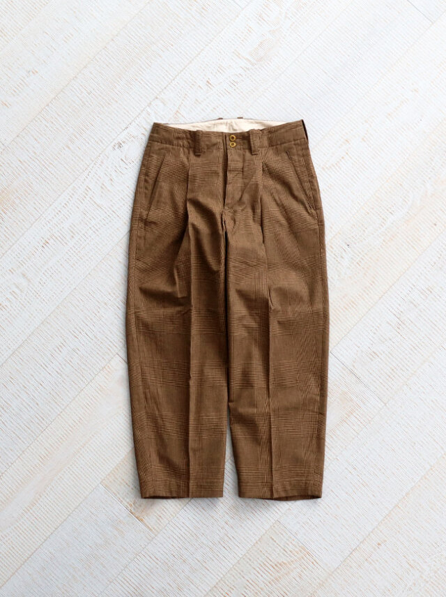 HAVERSACK Glen Check Work Pants