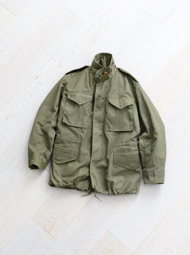 DEADSTOCK 1970'S U.S. ARMY M-65 FIELD JACKET