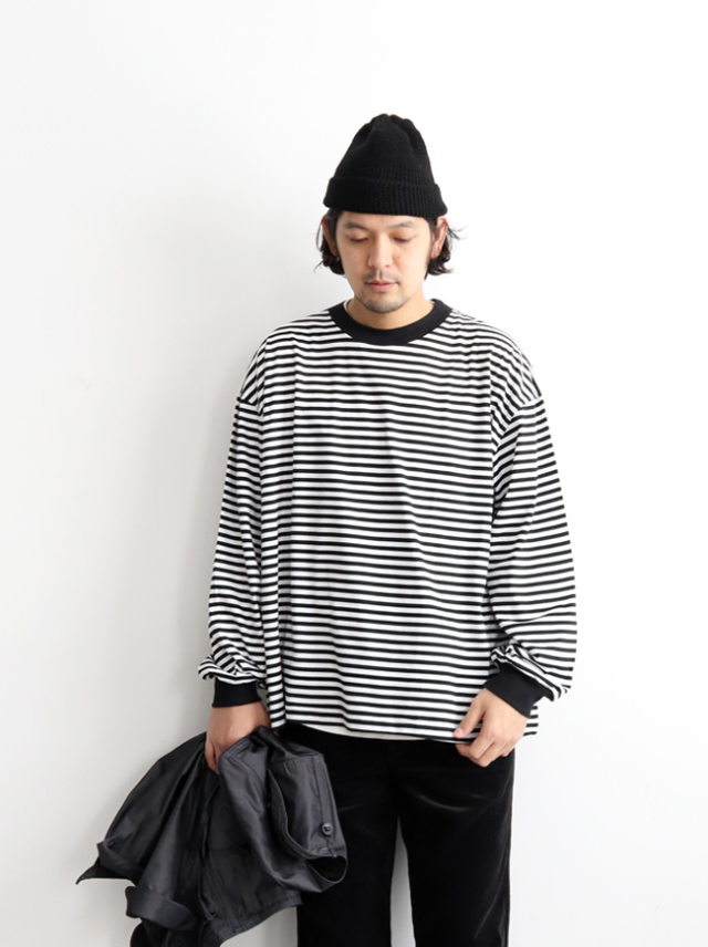 FLAMAND LS CREW STRIPE