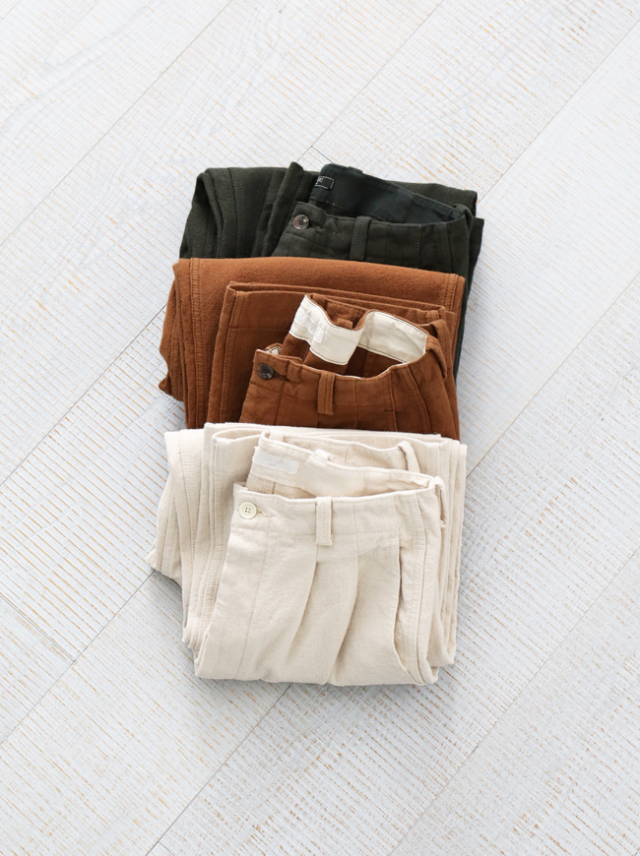 HATSKI Uncut 2Tuck Wide Trouser