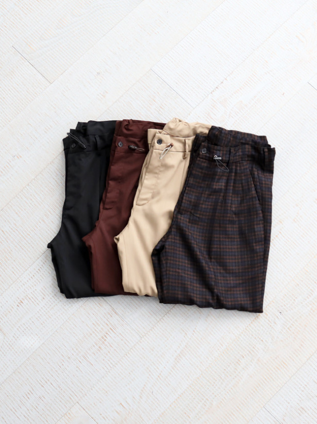 BASIS BROEK LEXHO -Travel Wool