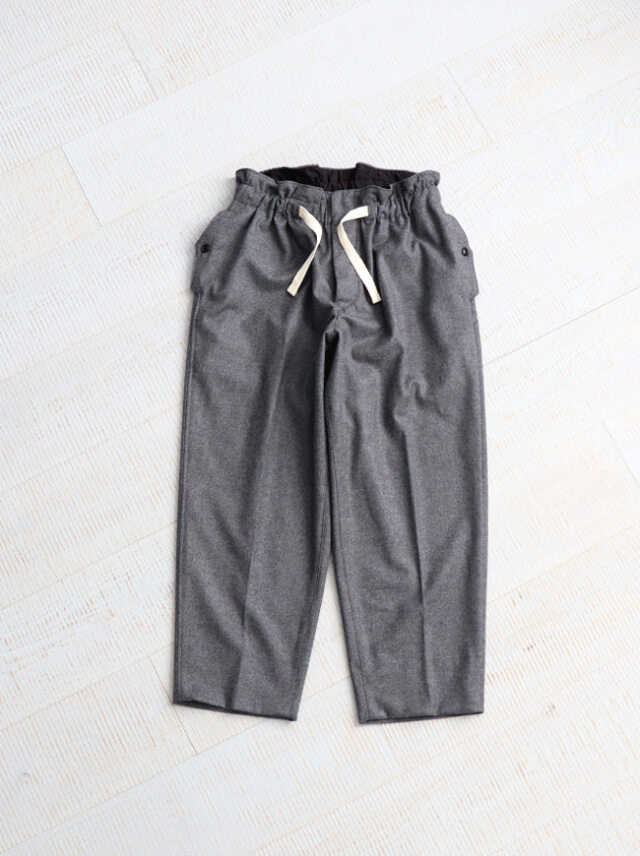 HAVERSACK Wool Cashmere Wide Easy Pants -ナイモノねだり