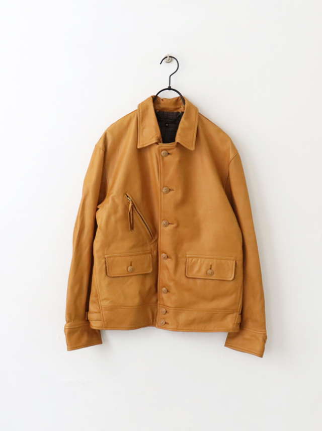 【30%OFF】A Vontade Leather Sports Jacket