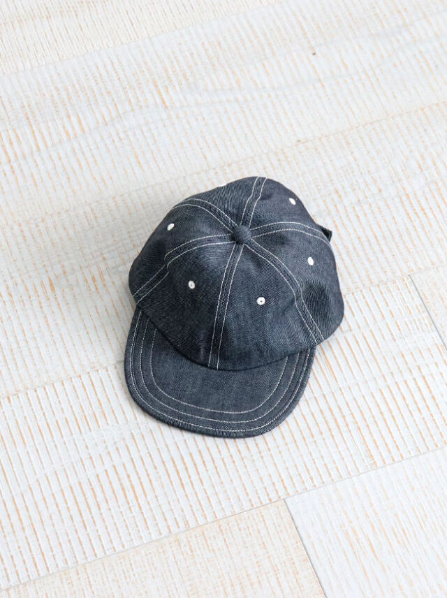 NOROLL OUTDATED CAP -DENIM
