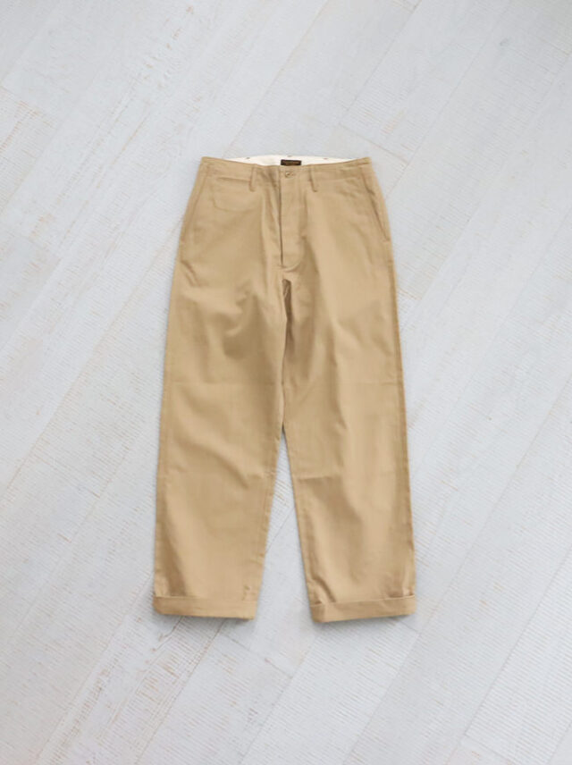 A Vontade Type 45 Chino Trousers - Wide Fit