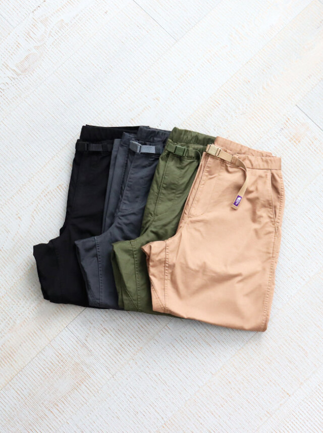 THE NORTH FACE PURPLE LABEL Stretch Twill Wide Tapered Pants
