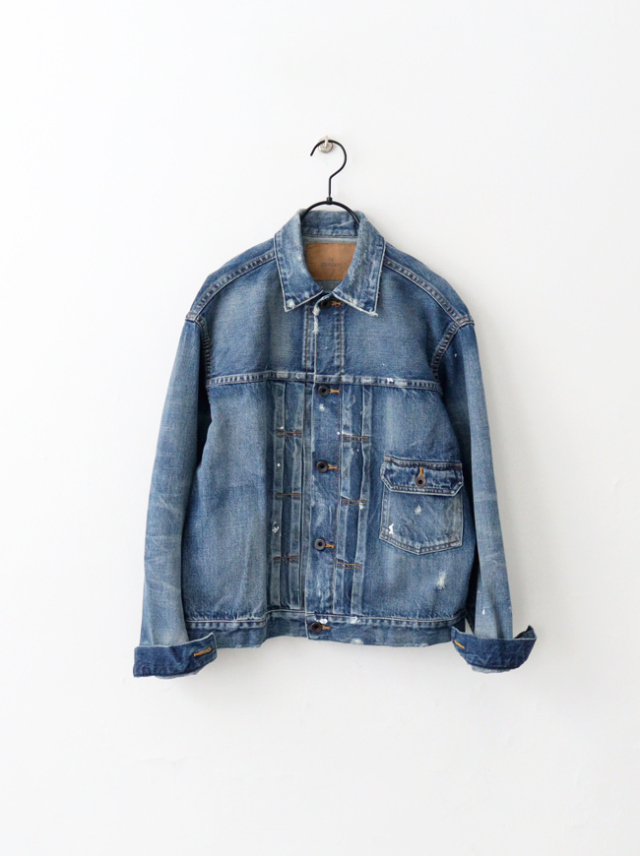 Re:ORDINARY DENIM JACKET -5YEAR