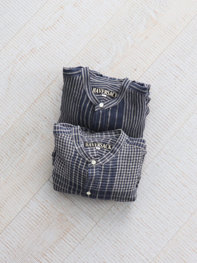 HAVERSACK Random Stripe/Check Kurta Shirts