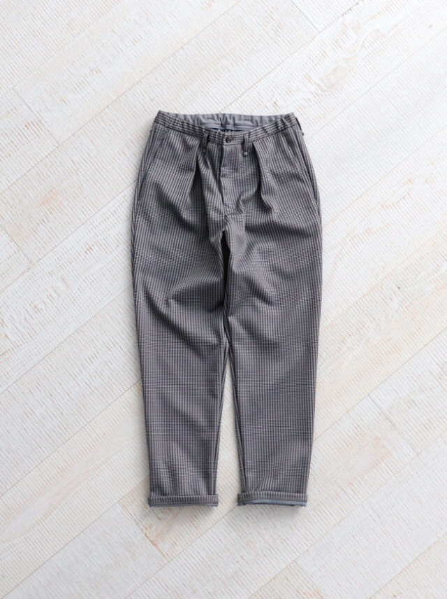 """CURLY BLEECKER TP TROUSERS """"Check"""""""