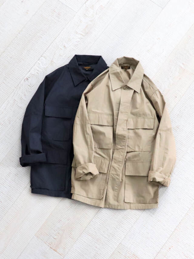 A Vontade BDU Tropical Jacket -Yarn Dyed Ripstop-