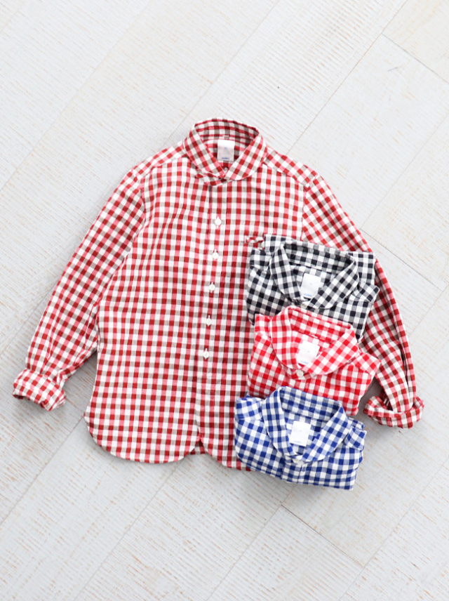 maillot Sunset Big Gingham Work Shirts(ビッグギンガム・ワーク) MAS-004B