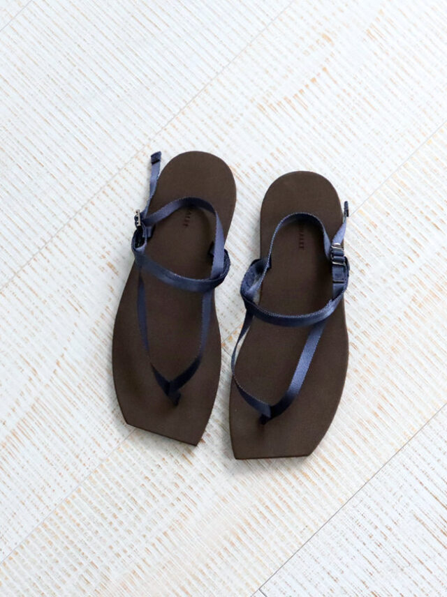 AURALEE BELTED BEACH SANDALS MADE BY FOOT THE COACHER