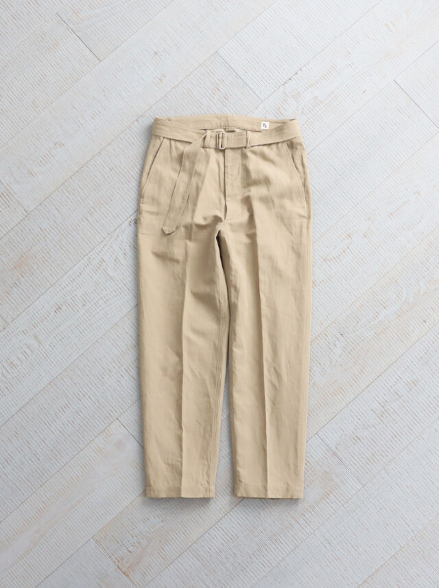 Kaptain Sunshine Belted Work Trousers