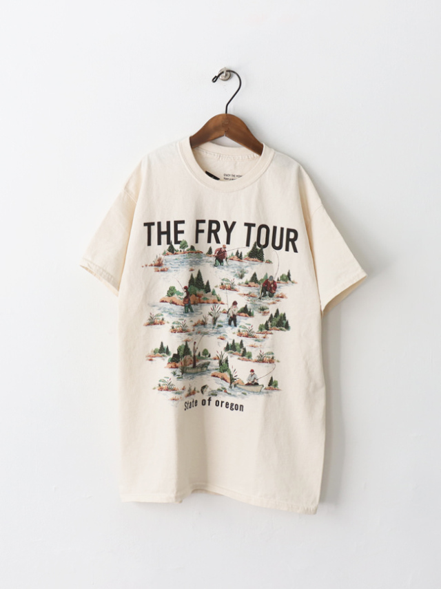 FUNG Print Tee -THE FRY TOUR