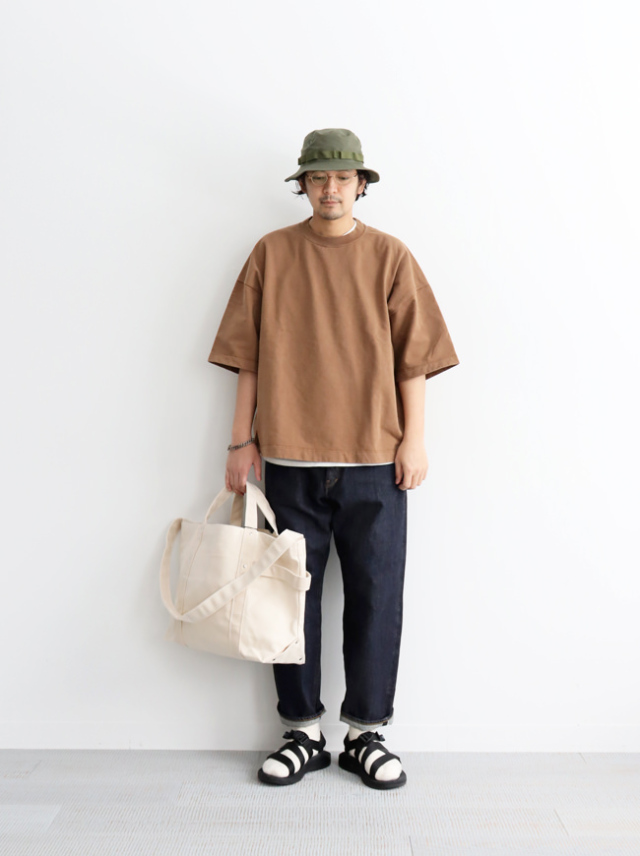 Sanca High Goose Fleece Crew 1/2 Sleeve