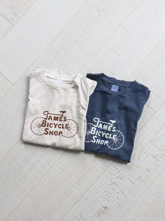 Ordinary fits PRINT-T JAMES BYCYCLE SHOP/OF-C019