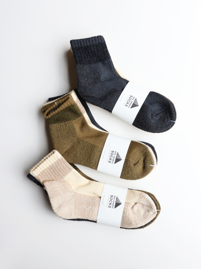 KEE SPORTS 3P MIL LINE MIDDLE CUT SOCKS (ミドルカット・ミリタリー)