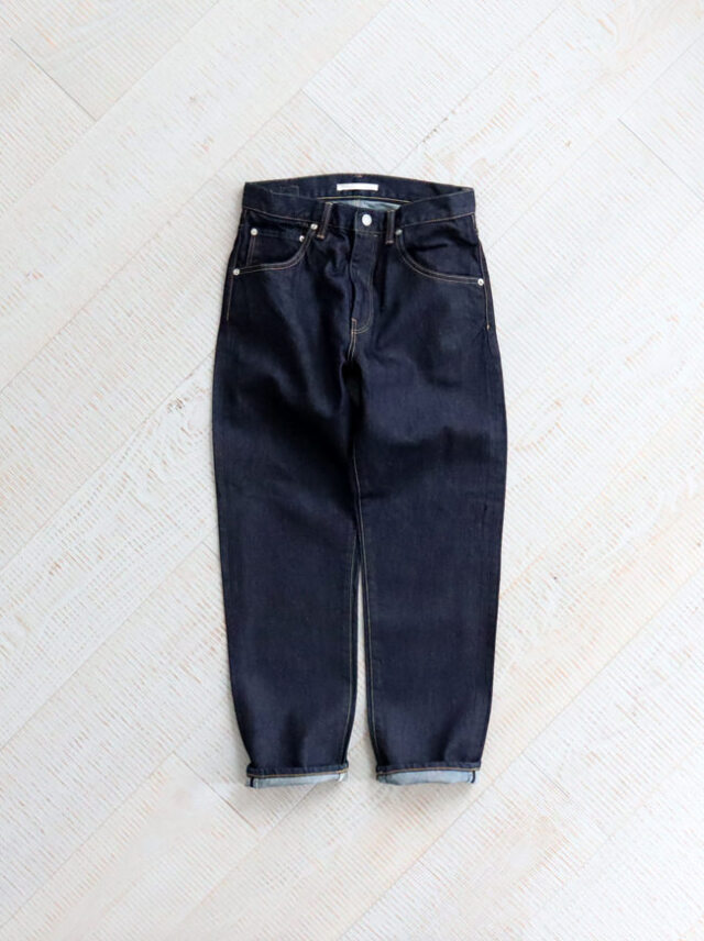 HATSKI Regular Tapered Washi Denim