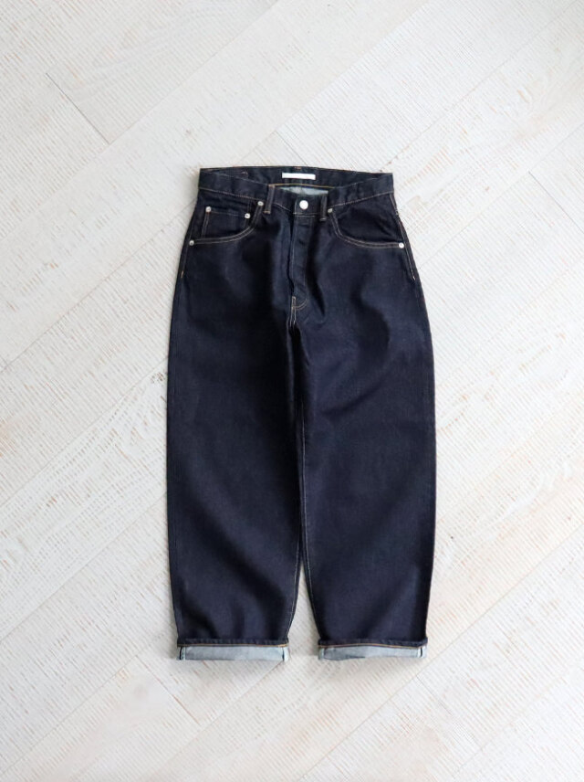 HATSKI Wide Tapered Washi Denim