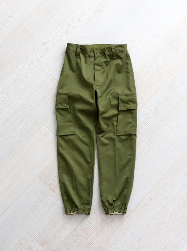 【30%OFF】DEADSTOCK SPANISH ARMY COMBAT PANTS