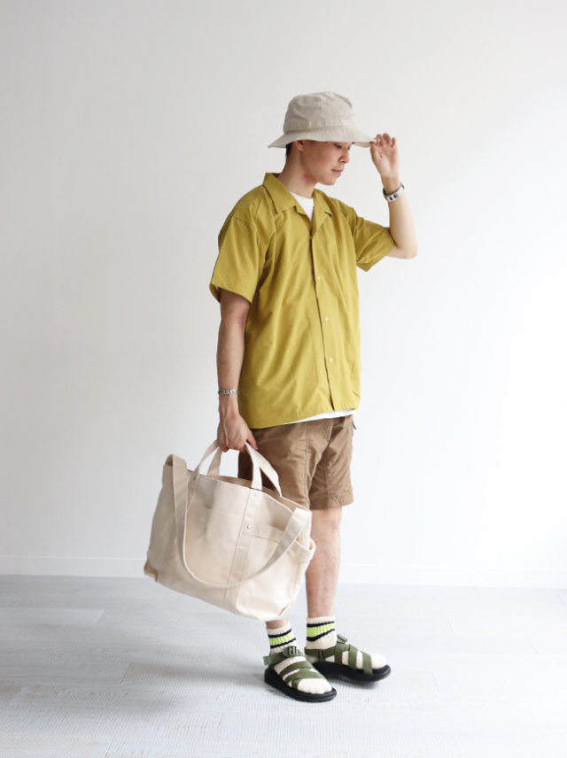 BURLAP OUTFITTER S/S CAMP SHIRT