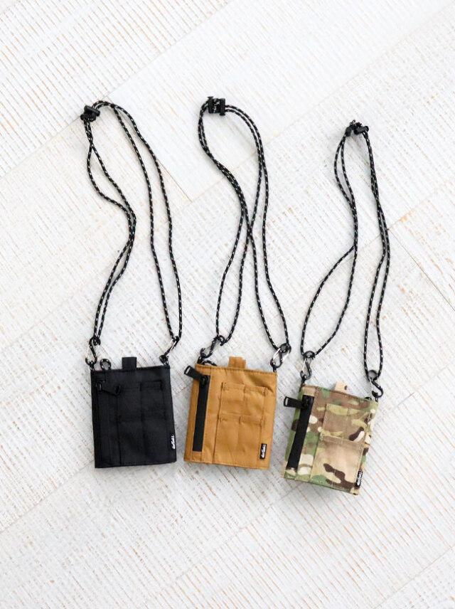 【20%OFF】WILD THINGS NECK POUCH TYPE MA1