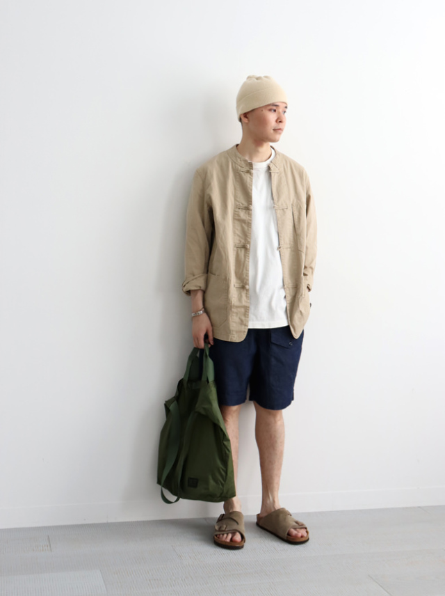 【40%OFF】Ordinary fits CHINA COVERALL/OF-J037