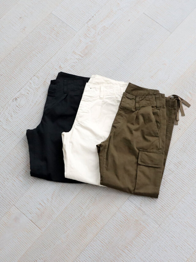 Ordinary fits GERMAN CARGO PANTS/OF-P084