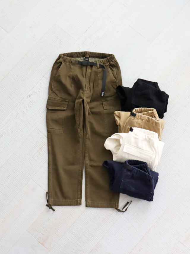 WILD THINGS PIGMENT DYED CARGO PANTS